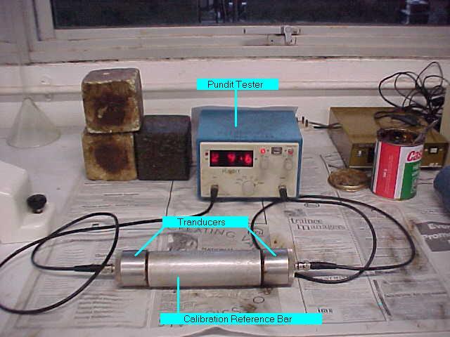Ultrasonic Pulse Velocity Testing Instrument for Concrete