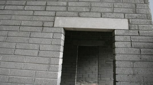 Types of Lintels used in Building Construction