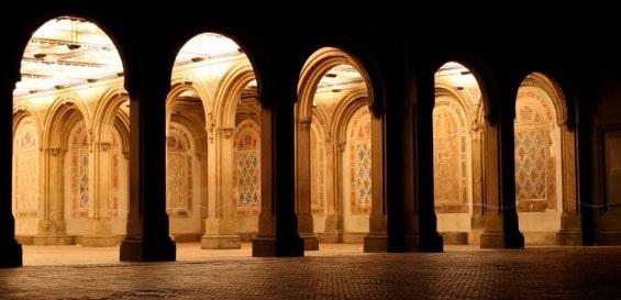 Arcade in Arches