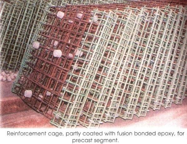 Epoxy Coated Reinforcement Bars