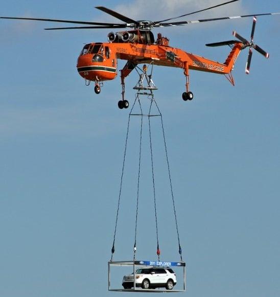 Aerial Crane