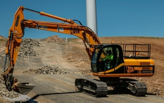 Soil excavation machines - Tracked Excavator