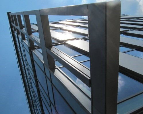 Reflectivity of Aluminium Structures