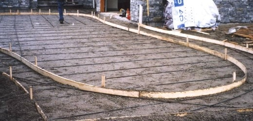 Forms for Stamped Concrete