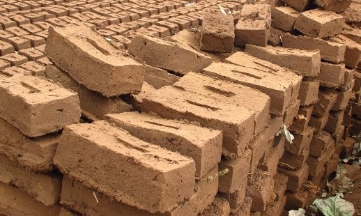 Sun-Dried or Unburnt Bricks