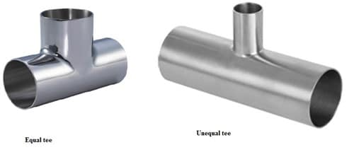 Tee type Pipe Fitting