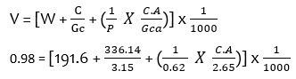 Aggregate  Ratio Calculation for Concrete