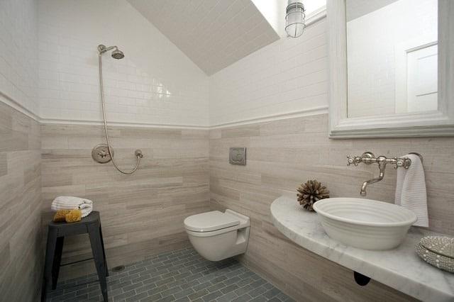 Bathrooms in Zero Energy House