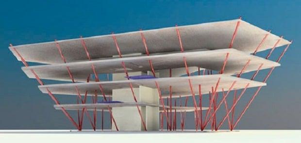 Inclined Column Design