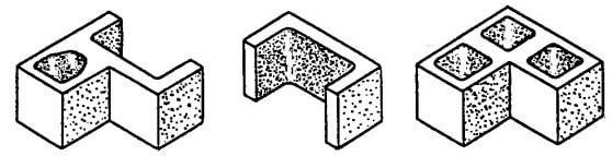 Special Masonry Pilaster Units