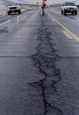 Disadvantages of Bituminous Roads - Distress in Pavements