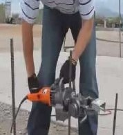 Electric Reinforcement Bar cutting and Bending Equipment