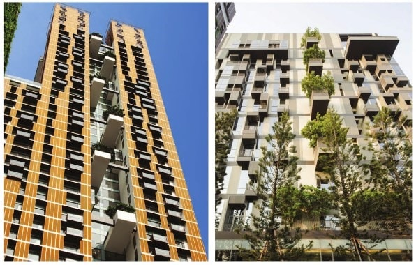 Green Walls in High Rise Buildings -Types, Features and Benefits