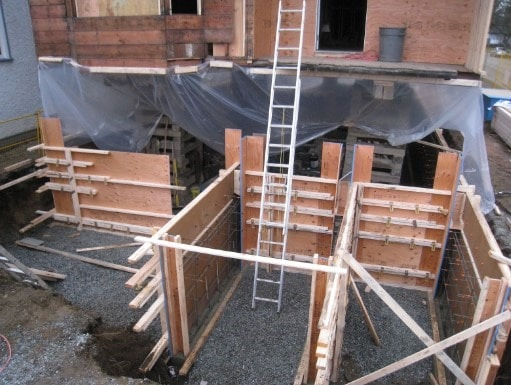 Parallel Strand Lumber Used in Formwork