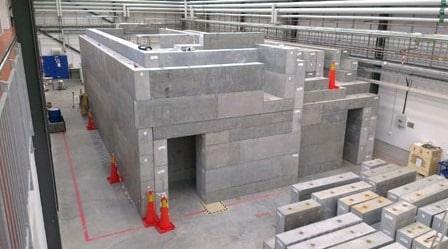 High Density Radiation Shielding Concrete Blocks