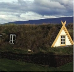 Icelandic Turf Houses- Viking Buildings