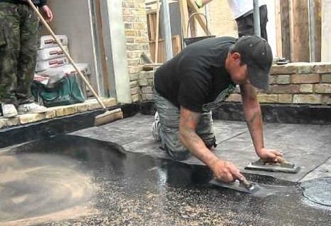 Asphalt Flooring Material