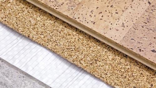 Cork Flooring in Buildings