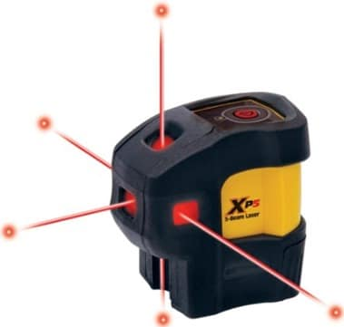 Laser Level for Measurement of Angles and Elevation