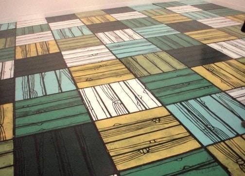 Linoleum Flooring in Buildings