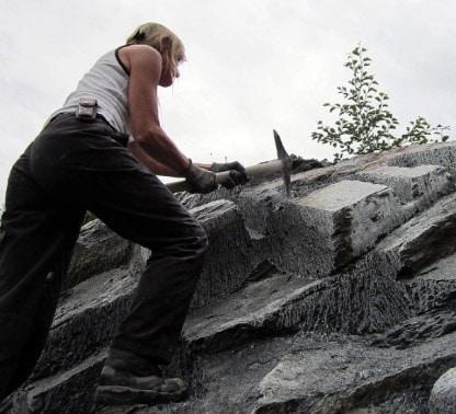 Quarrying of Stones using Hand Tools - Excavating