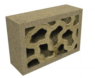 Vermiculated Finish for Stones