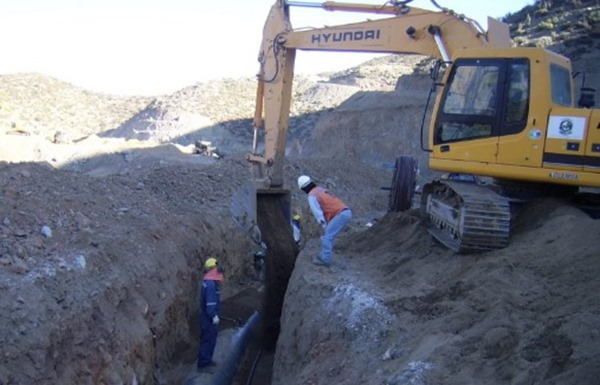 Backfilling of Sewer Sanitary Trench