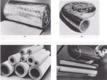 Insulation for Duct and Pipe Area in Buildings