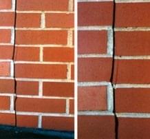 Brick Facade Deterioration due to Temperature