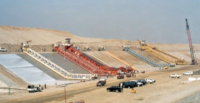 Types of Canal Construction Machineries
