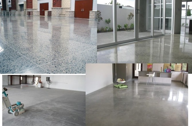 Exposed Concrete Floor and Finishes - Construction and Applications
