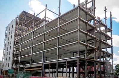 Construction of Steel Frame Structural Elements