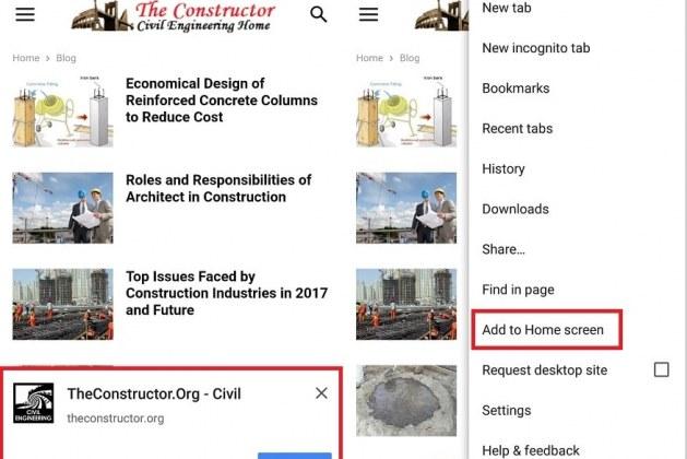 Install The Constructor App – Works Offline
