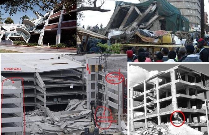 Failure of Concrete Structures Due to Various Factors