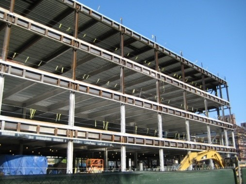 Unbraced Sway Steel Frame Structure