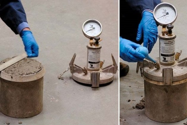 Measurement of Air Content in Concrete by Pressure Air Method