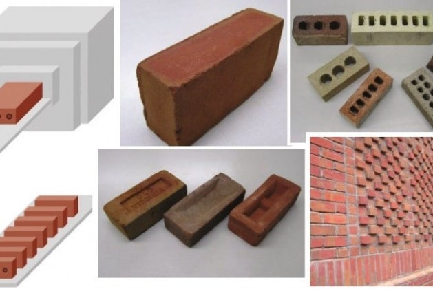 Extruded and Wood Mold Bricks for Residential Construction