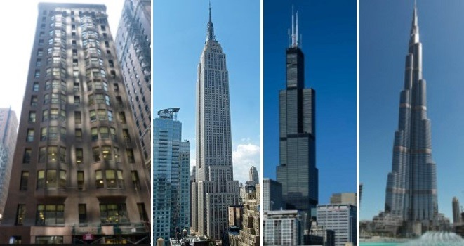 Four Generations of High Rise Building Construction