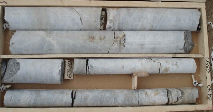 Rock Core Samples for RQD Calculation