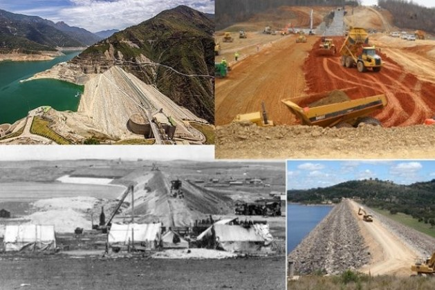 Operations in Embankment Dam Construction