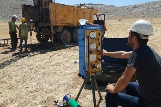 Pressuremeter Test on Soil for In-Situ Stress Strain Determination