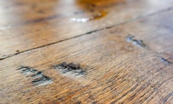 Chip Mark Defect in Timber