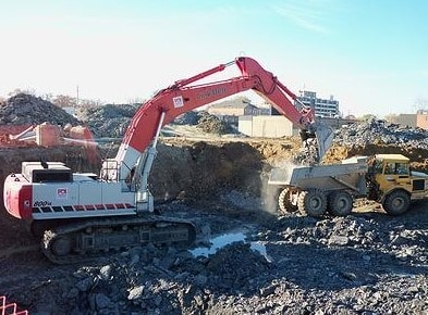 Remove Poor Soil from Brownfield Land