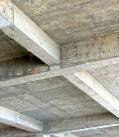 Cast in situ beam