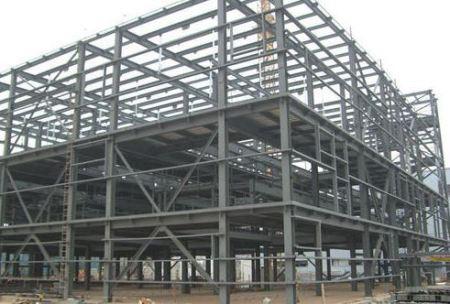 Industrial steel buildings (Chemical plant)