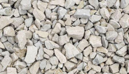 Limestone aggregate for concrete production