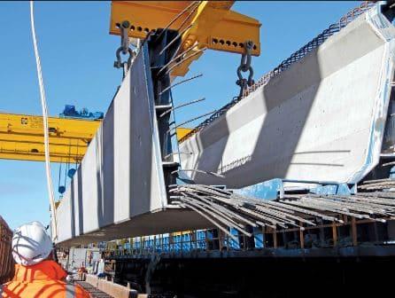 Prestressed concrete beam