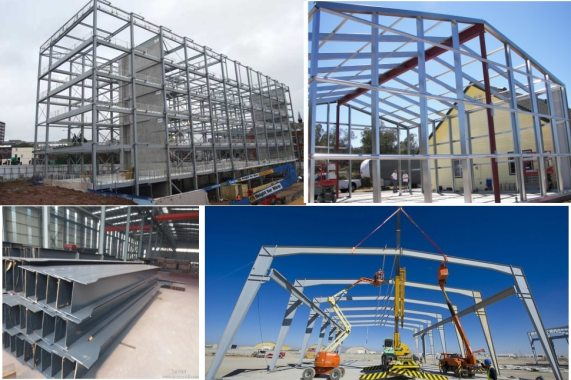 Steel Frame Structure Building Construction