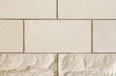 Tile manufactured from limestone