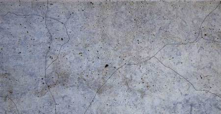 Cracks formed due to shrinkage of concrete.